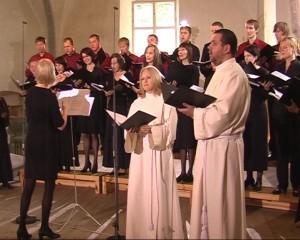 Ühendkammerkoor, solistid Eve Kopli ja Eerik Jõks. Dirigeerib Raili Vahermägi.