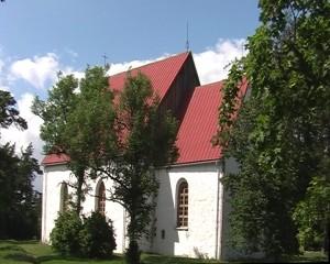 Vormsi Püha Olavi kirik. Foto: Kärt Einlo