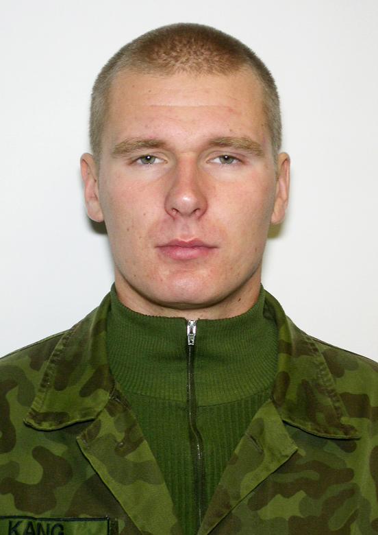 Seersant Raivis Kang