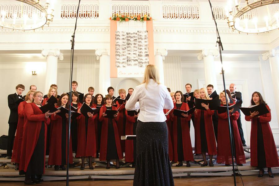Tartu Ülikooli Kammerkoor (foto: Tartu Ülikool)