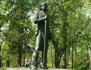 Kristjan Jaak Petersoni monument Tartus