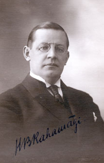 Hugo Berhnhard Rahamägi, piiskop 1934-1939