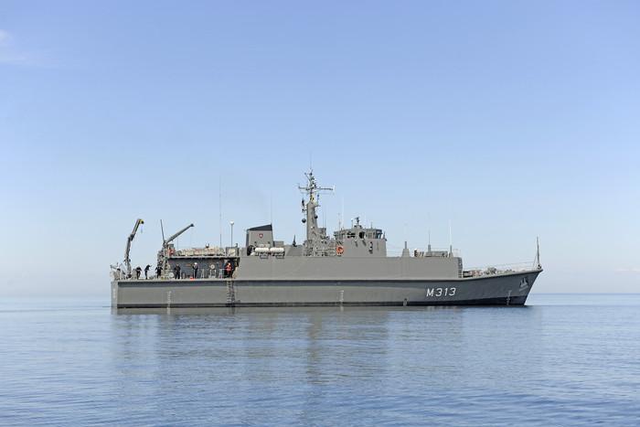 EML Admiral Cowan õppusel BALTOPS 2010