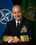 Admiral Stavridis -- first navy admiral to become SACEUR