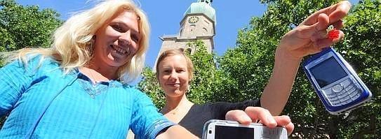 Eve Arpo ja Riin Rõõs (foto: Knut Vahlensieck)