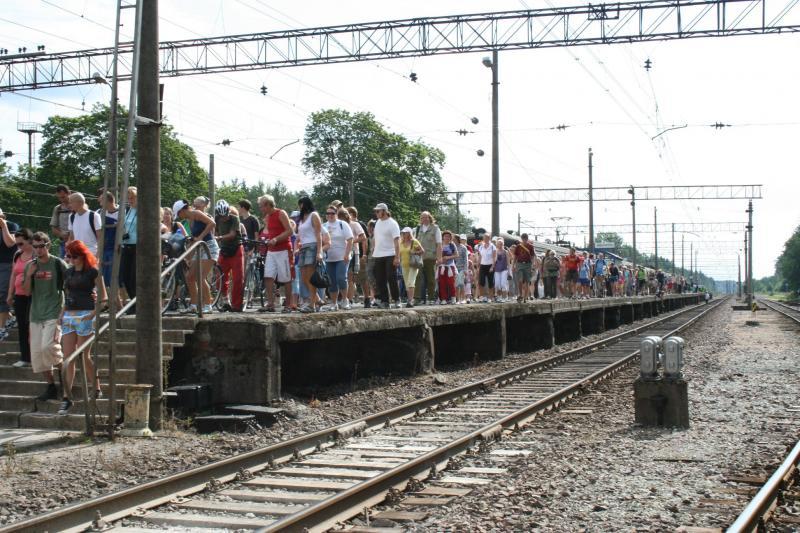 Aegviidu matk 2009.a augustis (foto: Elektriraudtee)