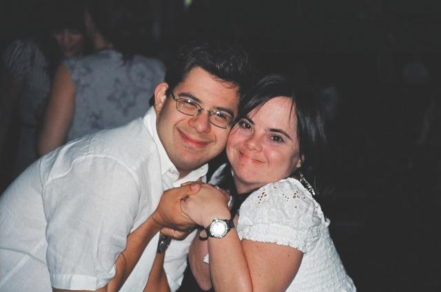 Monica and David