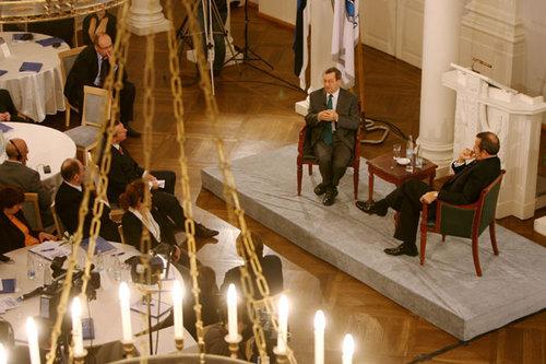 Vabariigi Presidendi kärajad Tartu Ülikoolis 08.10.2008 (foto: presidendi kantselei)