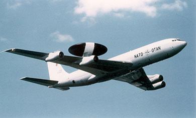 AWACSiga varustatud Boeing 707 E-3A  (foto: www.mil.ee)