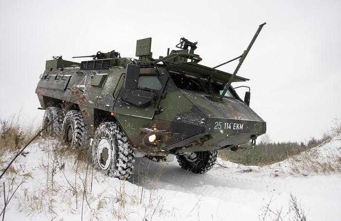 Sisu XA-188 sobib kasutamiseks põhjamaistes oludes.