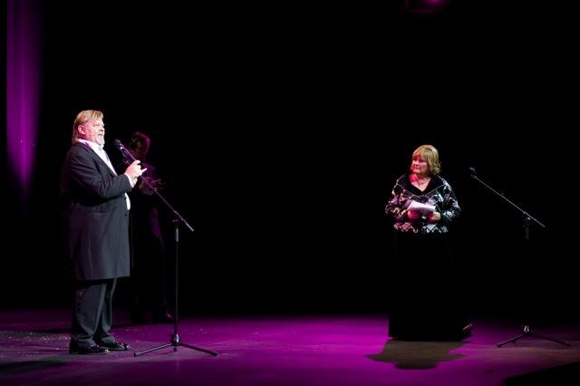 Vesa-Matti Loiri ja Tiina Lokk (foto: PÖFF)