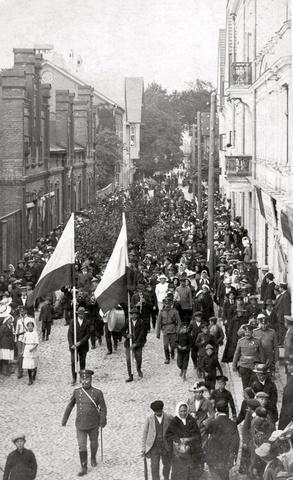 Viljandimaa vabatahtlikud. Autor: Teadmata / Allikas: Viljandi Muuseum
