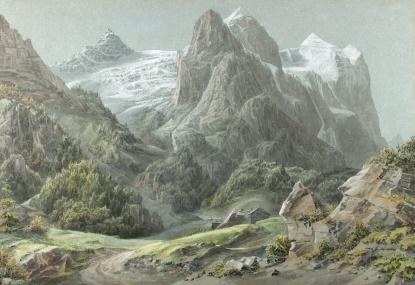 Alpimaastik (1821-1822). Avaldatud: www.utlib.ee