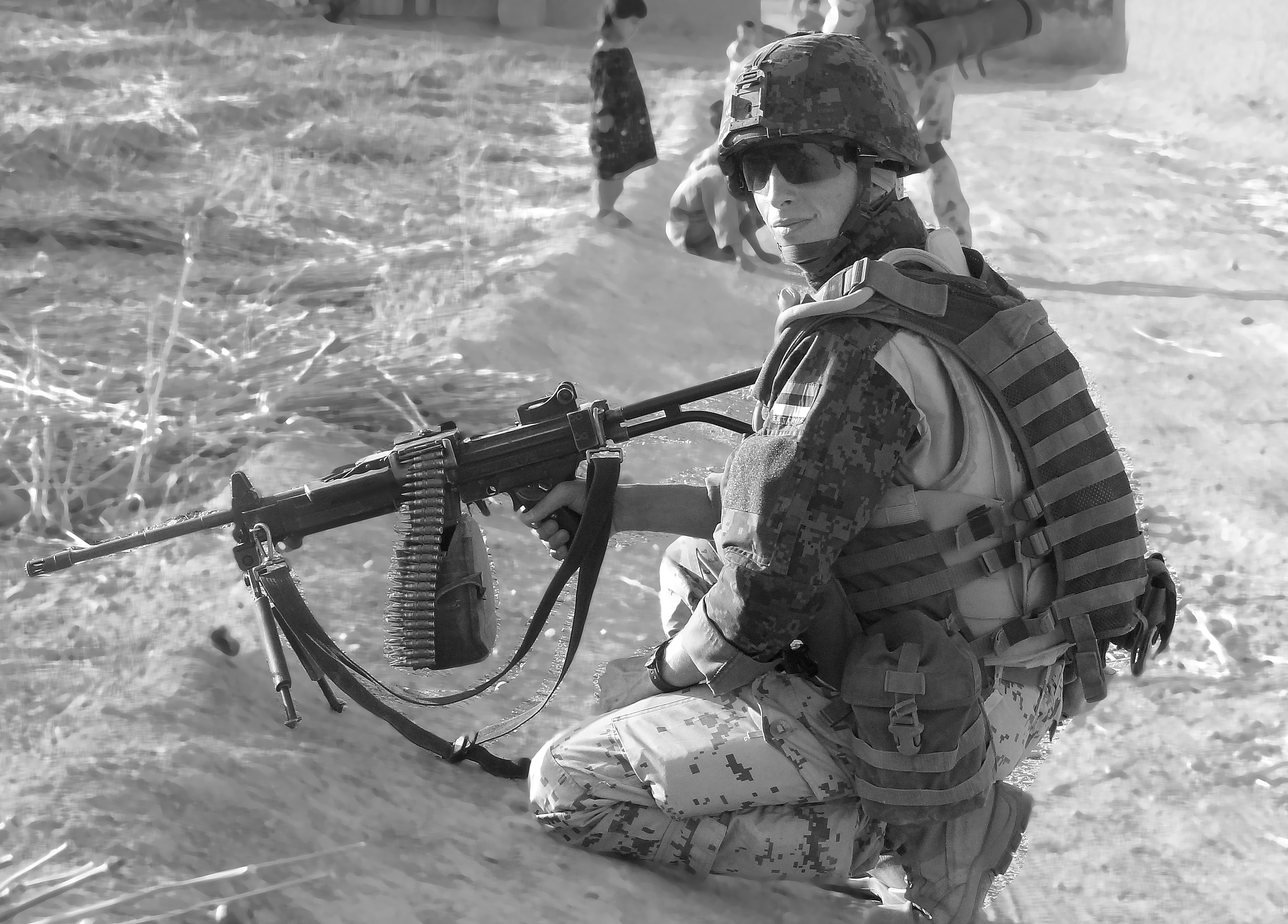 Kapral Agris Hutrof (foto: www.mil.ee)
