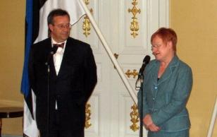 President Ilvese töövisiit Soome 16.10.2006 (foto: www.president.ee)