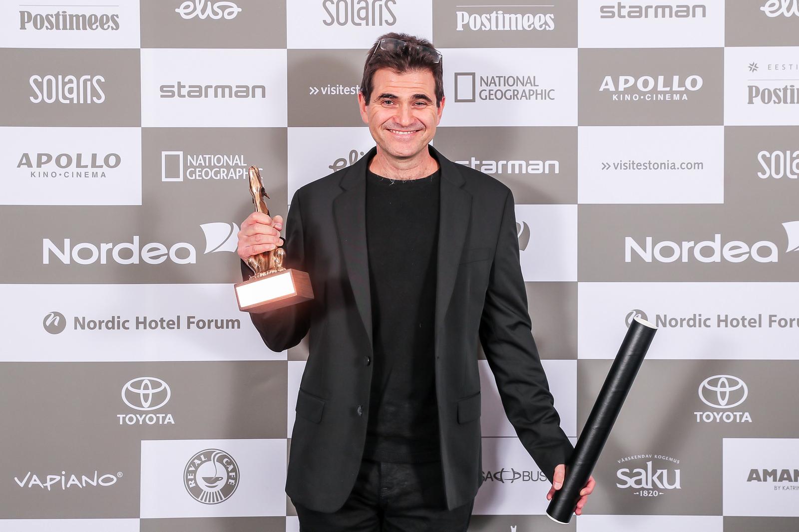 """Eitan Anner, kes võitis eelmisel aastal grand prix´ filmi """"Vaikne süda"""" eest, kuulub tänavu debüütfilmide võistlusprogrammi žüriise. Foto: Erlend Štaub / PÖFF"""